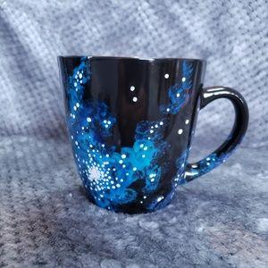 Other - Blue Large Hand-painted Mug